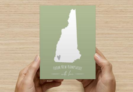 Custom state postcards!