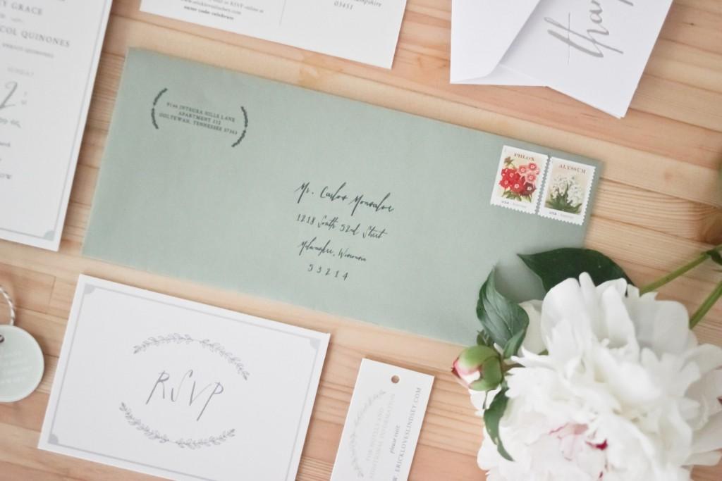 Update: Our Wedding Invitation Photoshoot