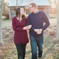Amanda & Jonathan   Greenway Farms Engagement Session – Chattanooga, TN